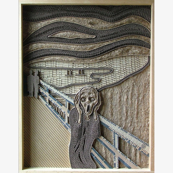 Homage to the Scream